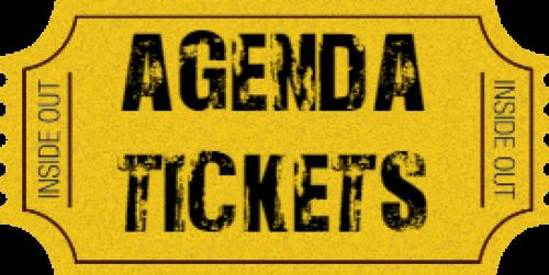 Agenda Tickets