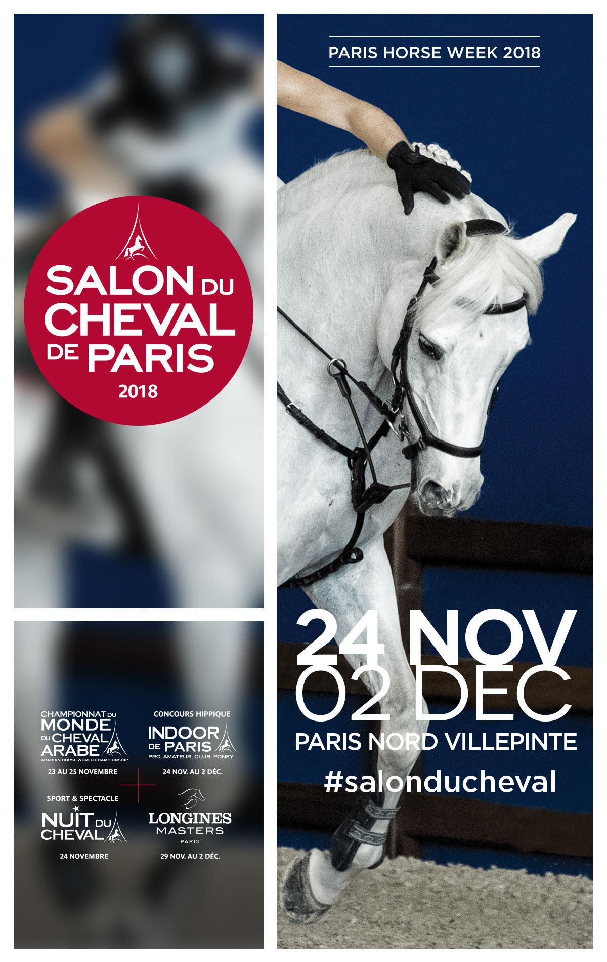 Salon du cheval 2018 de paris semaine - Salon du cheval de lyon ...